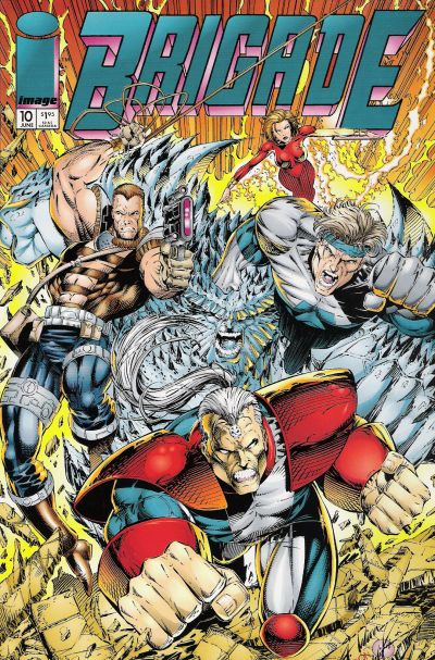 Cover for Brigade (Image, 1993 series) #10