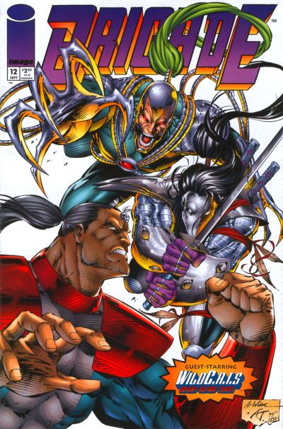 Cover for Brigade (Image, 1993 series) #12