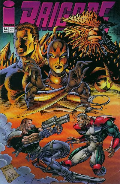 Cover for Brigade (Image, 1993 series) #14