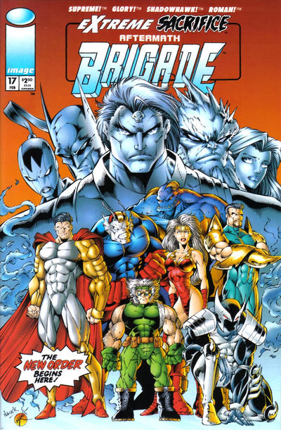 Cover for Brigade (Image, 1993 series) #17