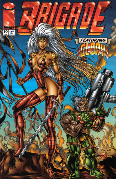 Cover for Brigade (Image, 1993 series) #19