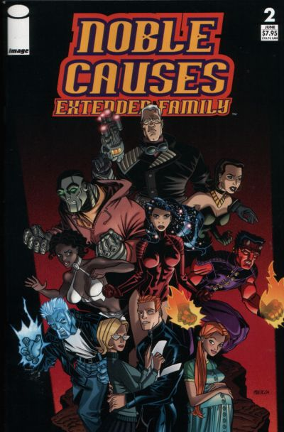 Cover for Noble Causes: Extended Family (Image, 2003 series) #2