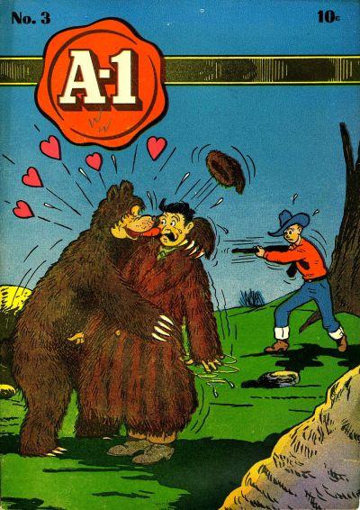 Cover for A-1 (Magazine Enterprises, 1945 series) #3