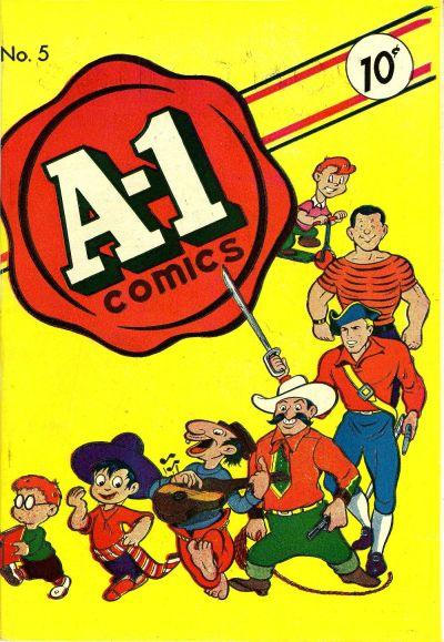 Cover for A-1 (Magazine Enterprises, 1945 series) #5