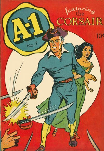 Cover for A-1 (Magazine Enterprises, 1945 series) #7