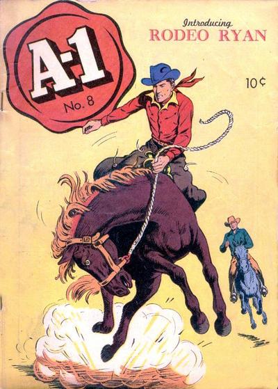 Cover for A-1 (Magazine Enterprises, 1945 series) #8