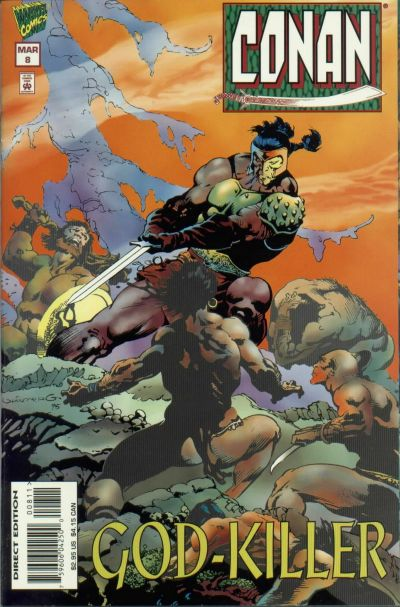 Cover for Conan (Marvel, 1995 series) #8