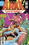 Cover for Arak / Son of Thunder (DC, 1981 series) #1 [Direct]