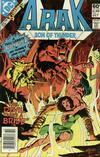 Cover Thumbnail for Arak / Son of Thunder (1981 series) #2 [Newsstand]