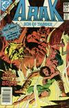 Cover for Arak / Son of Thunder (DC, 1981 series) #2 [Newsstand]