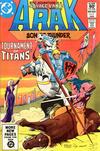 Cover for Arak / Son of Thunder (DC, 1981 series) #5 [Direct]