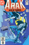 Cover for Arak / Son of Thunder (DC, 1981 series) #6 [Direct]