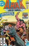 Cover for Arak / Son of Thunder (DC, 1981 series) #7 [Direct]