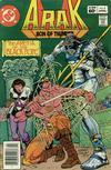 Cover for Arak / Son of Thunder (DC, 1981 series) #8 [Newsstand]