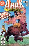 Cover for Arak / Son of Thunder (DC, 1981 series) #10 [Direct]