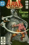 Cover for Arak / Son of Thunder (DC, 1981 series) #12 [Direct]