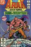 Cover for Arak / Son of Thunder (DC, 1981 series) #17 [Direct]