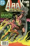 Cover for Arak / Son of Thunder (DC, 1981 series) #18 [Newsstand]