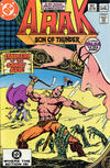 Cover for Arak / Son of Thunder (DC, 1981 series) #20 [Direct]