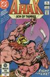 Cover for Arak / Son of Thunder (DC, 1981 series) #22 [Direct]