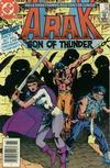 Cover Thumbnail for Arak / Son of Thunder (1981 series) #38 [Newsstand]