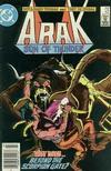 Cover for Arak / Son of Thunder (DC, 1981 series) #42 [Newsstand]