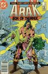 Cover for Arak / Son of Thunder (DC, 1981 series) #45 [Newsstand]