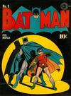 Cover for Batman (DC, 1940 series) #9