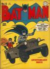 Cover for Batman (DC, 1940 series) #12