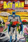 Cover for Batman (DC, 1940 series) #156