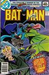 Cover for Batman (DC, 1940 series) #307