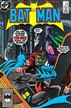 Cover for Batman (DC, 1940 series) #398 [Second Printing - Bat Symbol]