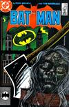 Cover for Batman (DC, 1940 series) #399 [Second Printing - Bat Signal]