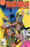 Cover for Batman (DC, 1940 series) #409 [Direct]