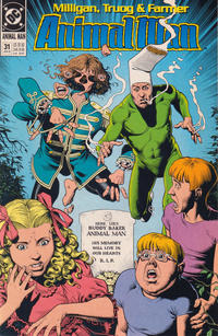 Cover Thumbnail for Animal Man (DC, 1988 series) #31