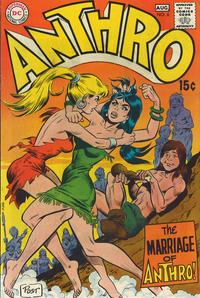 Cover Thumbnail for Anthro (DC, 1968 series) #6