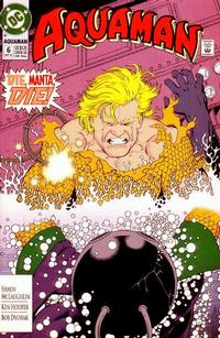Cover Thumbnail for Aquaman (DC, 1991 series) #6 [Direct]