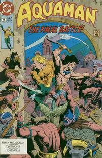 Cover Thumbnail for Aquaman (DC, 1991 series) #12 [Direct]