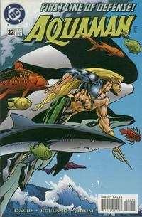 Cover Thumbnail for Aquaman (DC, 1994 series) #22