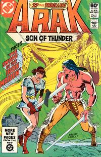 Cover Thumbnail for Arak / Son of Thunder (DC, 1981 series) #3 [Direct]
