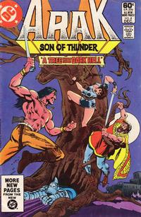 Cover Thumbnail for Arak / Son of Thunder (DC, 1981 series) #4 [Direct]