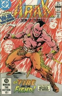 Cover Thumbnail for Arak / Son of Thunder (DC, 1981 series) #15 [Direct Sales]