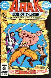 Cover Thumbnail for Arak / Son of Thunder (DC, 1981 series) #24 [Direct Edition]