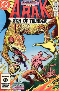 Cover Thumbnail for Arak / Son of Thunder (DC, 1981 series) #25 [Direct]