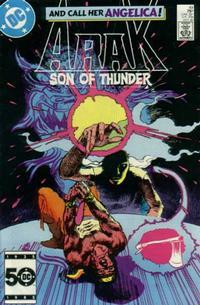 Cover Thumbnail for Arak / Son of Thunder (DC, 1981 series) #49 [Direct]