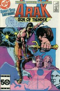 Cover Thumbnail for Arak / Son of Thunder (DC, 1981 series) #50 [Direct]