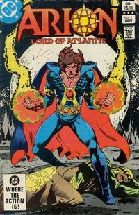 Cover Thumbnail for Arion, Lord of Atlantis (DC, 1982 series) #1 [Direct Edition]
