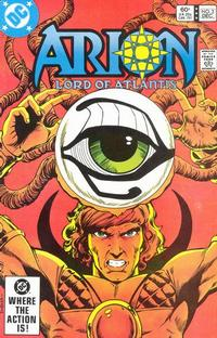Cover Thumbnail for Arion, Lord of Atlantis (DC, 1982 series) #2 [Direct Edition]