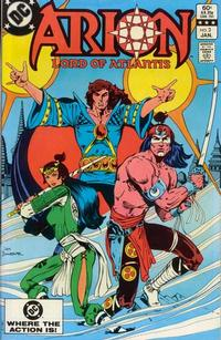 Cover Thumbnail for Arion, Lord of Atlantis (DC, 1982 series) #3 [Direct]