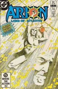 Cover Thumbnail for Arion, Lord of Atlantis (DC, 1982 series) #4 [Direct]